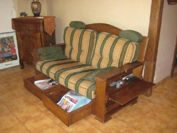 divano taverna: due posti, letto