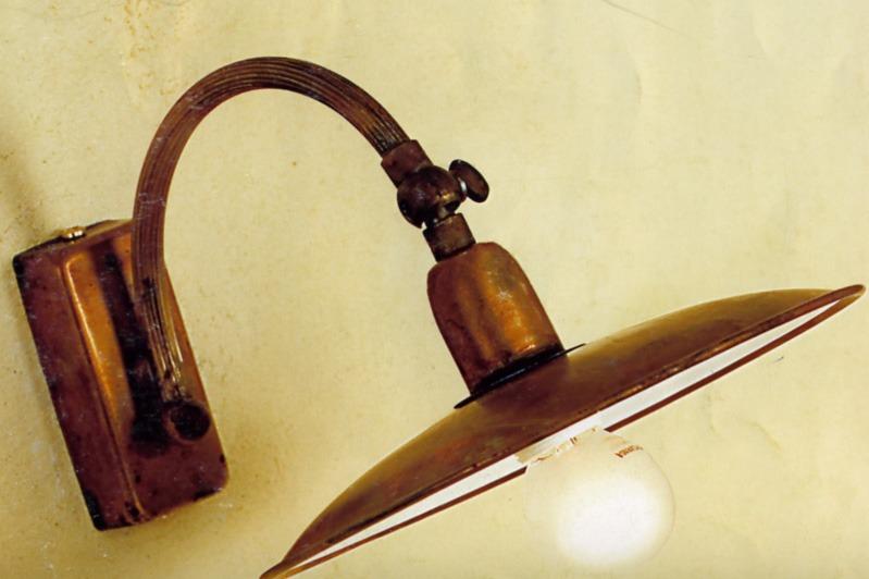 lampade rustiche