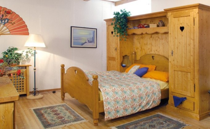 Letti rustici legno ferro battuto - Camere da letto in legno rustico ...