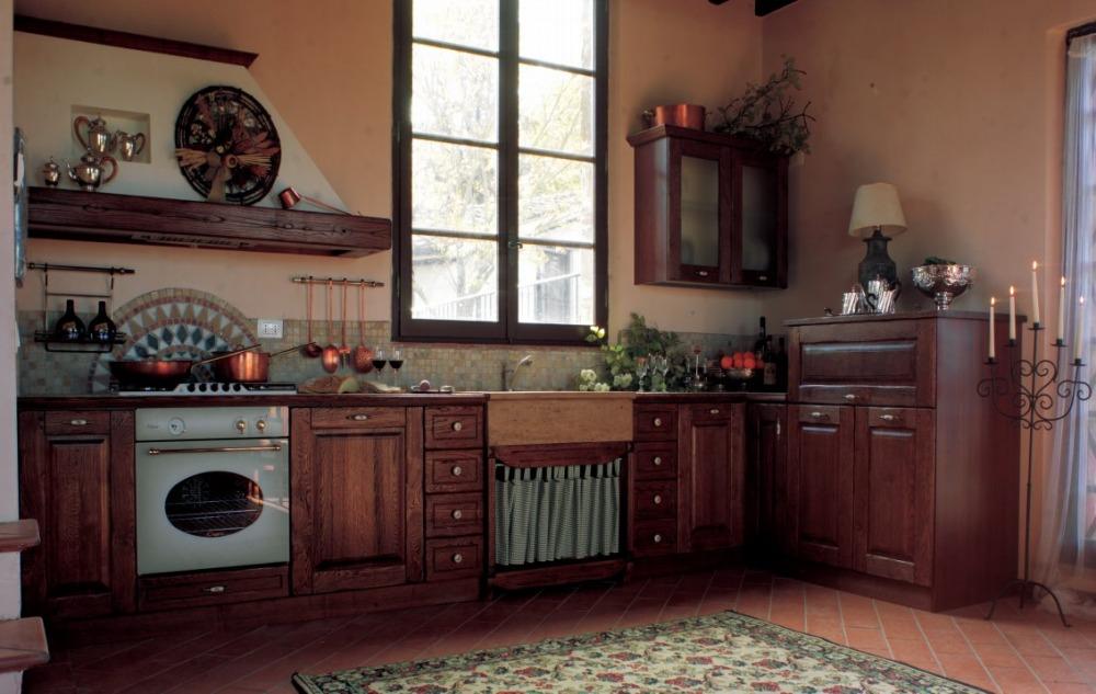 Mobili cucina rustica modulare personalizzata - Arredamento cucine rustiche ...