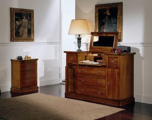 Mobili in arte povera rustici legno massello - Camere da letto in legno rustico ...