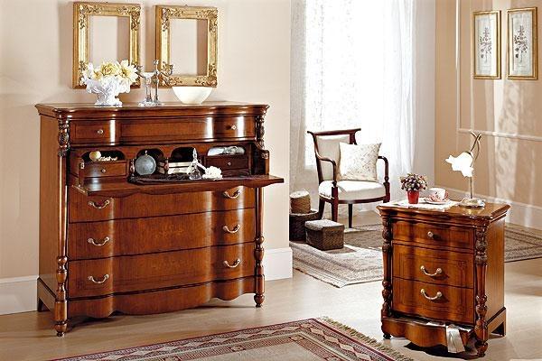 mobili in legno massello rustico tronco