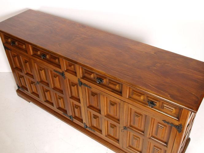Credenza Rustica Da Taverna : Cassettiera rustica legno cassetti