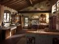 illuminazione cucina rustica