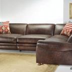 divani rustici in pelle