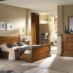 mobili camera da letto rustica