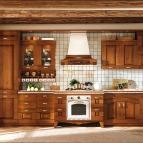 pareti cucina rustica