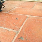pavimento rustico in cotto