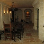 pavimento rustico in pietra