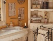 Accessori bagno rustico