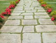 Pavimenti giardino rustico