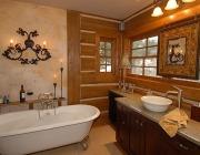 Vasca da bagno rustica