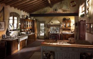 Mobili Rustici Cucina : Arredamento rustico per casa taverna mansarda giardino; arredi e