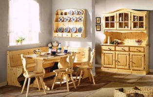 Arredamento rustico per casa taverna mansarda giardino - Mobili rustici per cucina ...